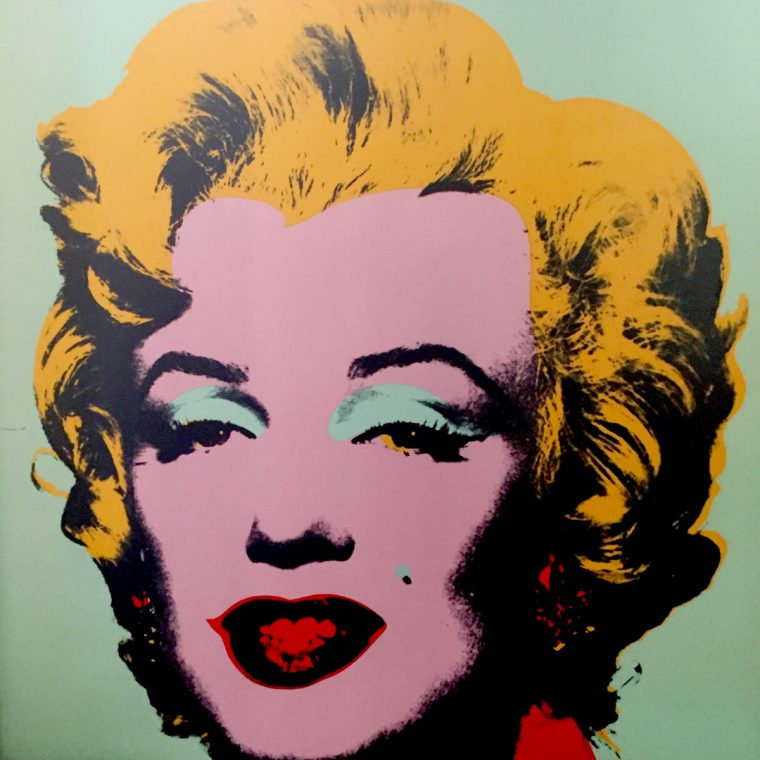 Warhol Icons at Halcyon Gallery // colourliving