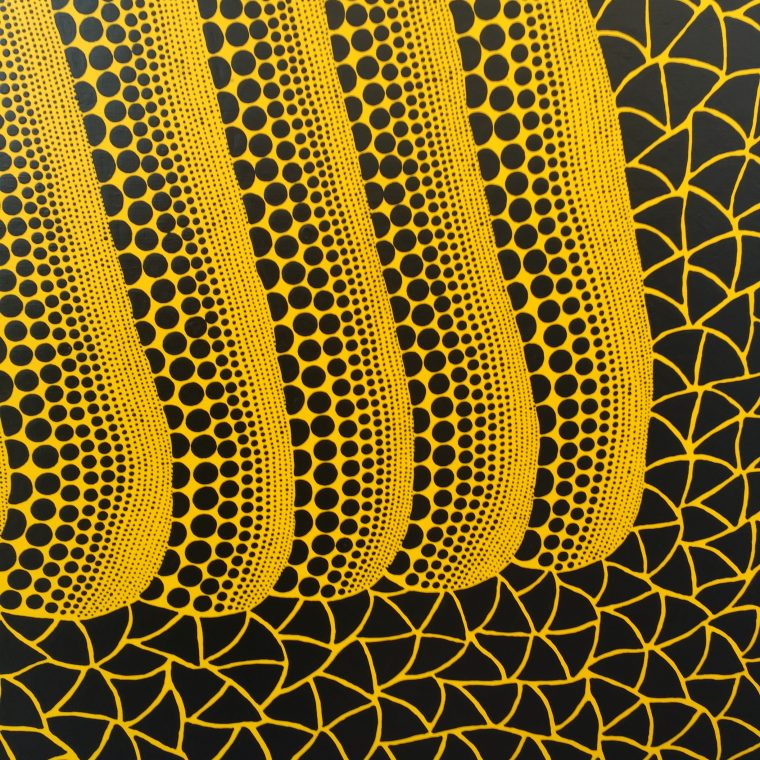 Yayoi Kusama exhibition at the Victoria Miro Gallery // colourliving