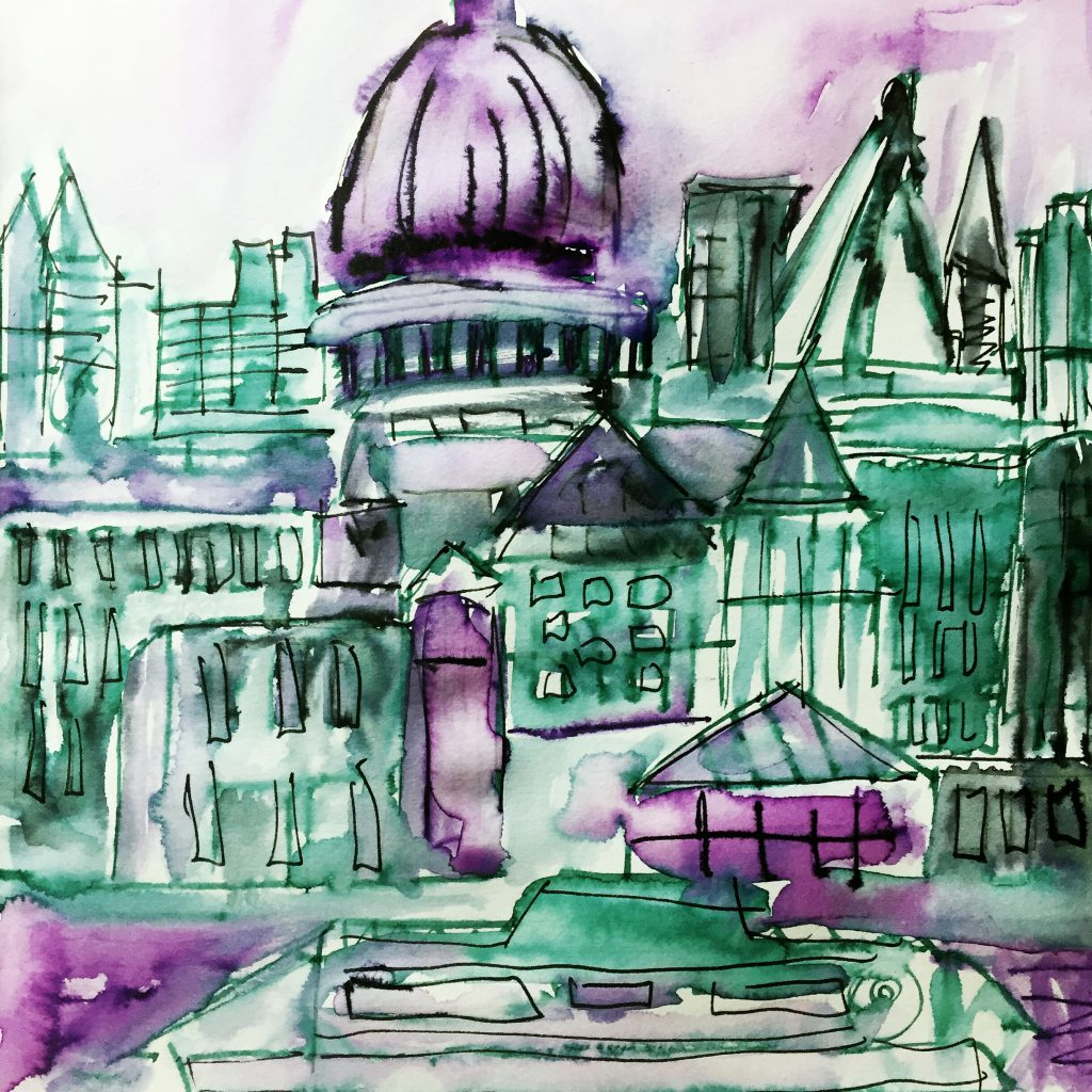 Sketching Cityscapes 2 // Colourliving