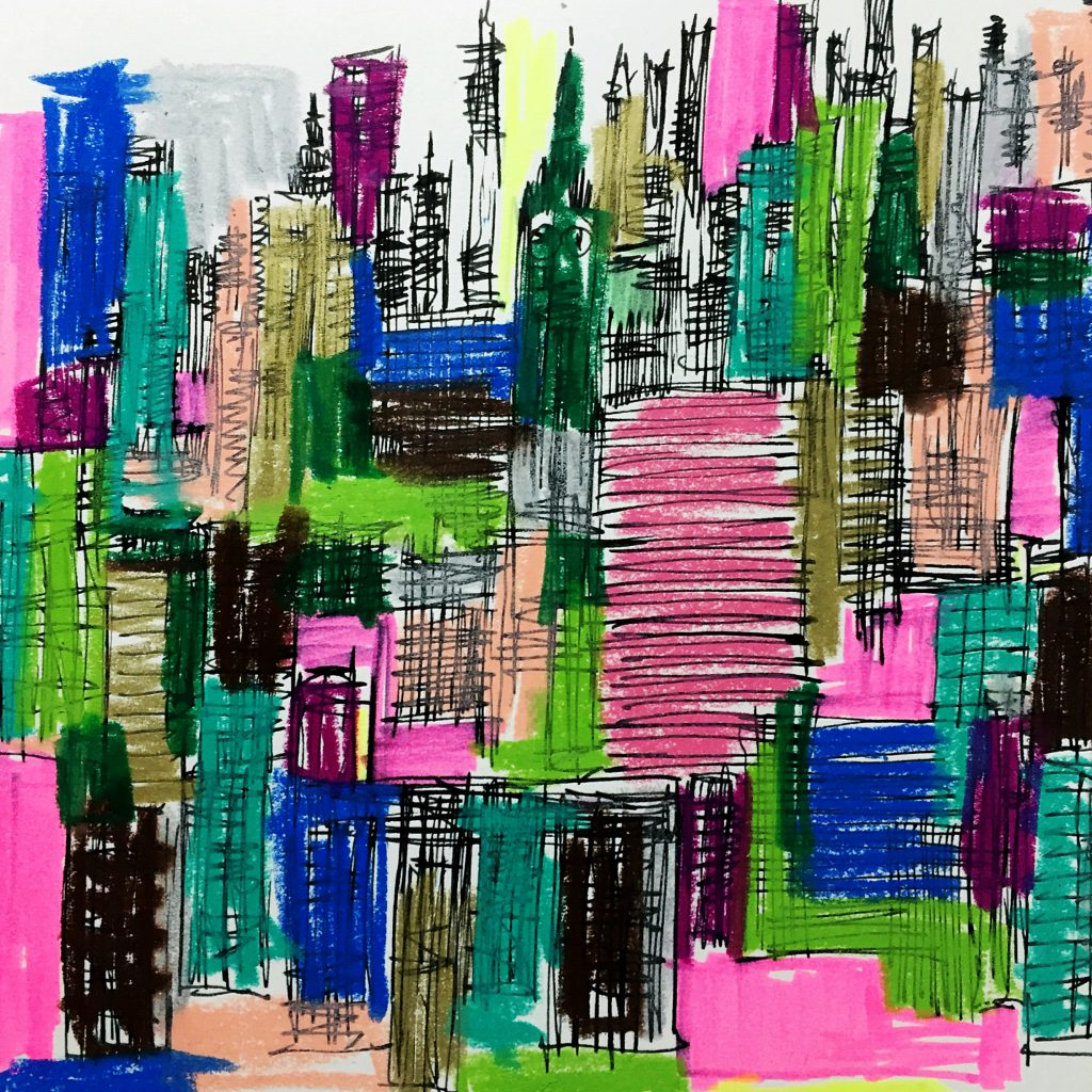 Sketching Cityscapes 4 // Colourliving
