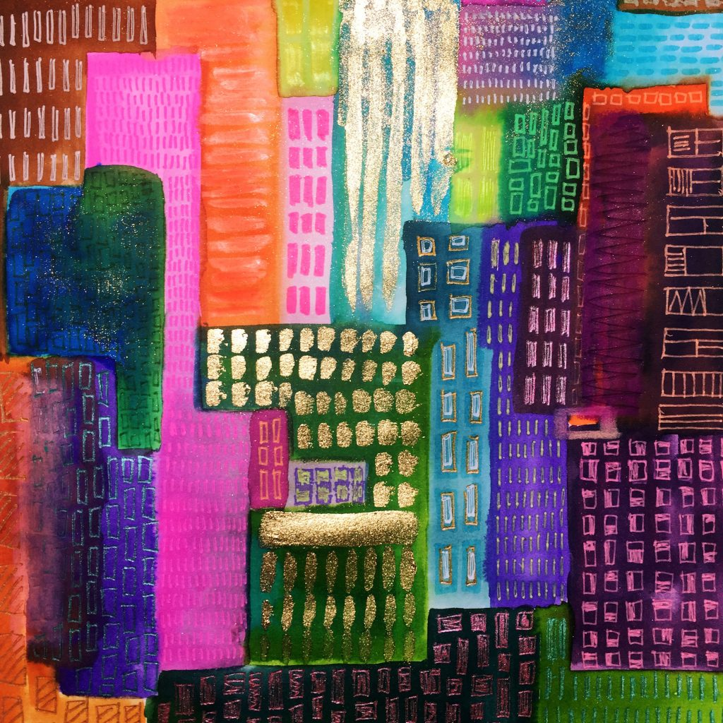 Sketching Cityscapes 5 // Colourliving